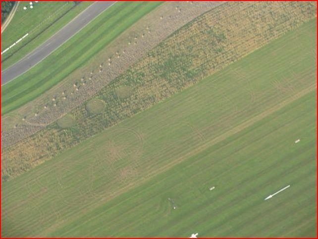 Crop circle à Goodwood