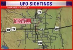 ROSWELL - Un ovni aperçu à Roswell lundi 15 septembre 2008 Roswell03