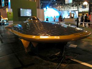 Voiture solaire xof1