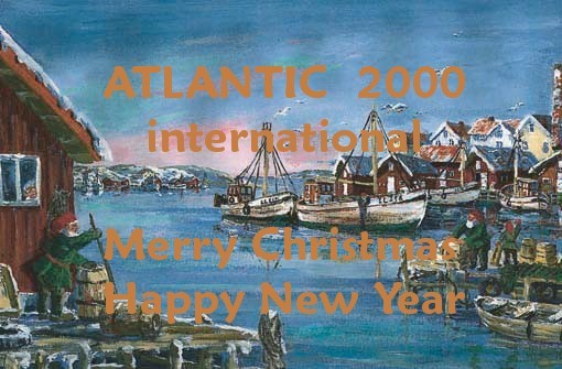 Pirate Radio QSL card - Atlantic 2000 International