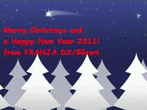 Pirate Radio QSL card - Franja DX