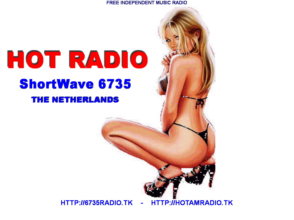 Pirate Radio QSL card - Hot Radio