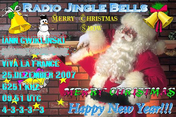 Pirate Radio QSL card - Radio Jingle Bells