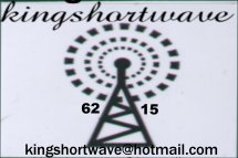 Pirate Radio QSL card - King Shortwave Radio