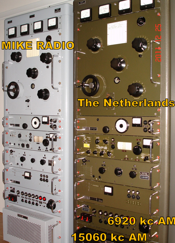 Pirate Radio QSL card - Mike Radio