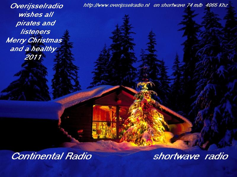 Pirate Radio QSL card - Overijssel Radio