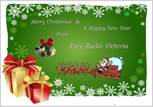 Pirate Radio QSL card - Free Radio Victoria