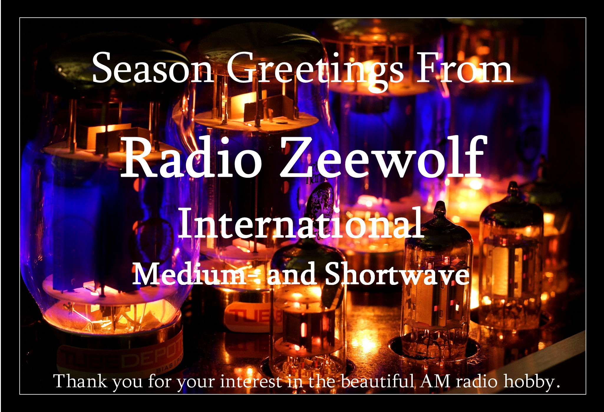 Pirate Radio QSL card - Radio Zeewolf